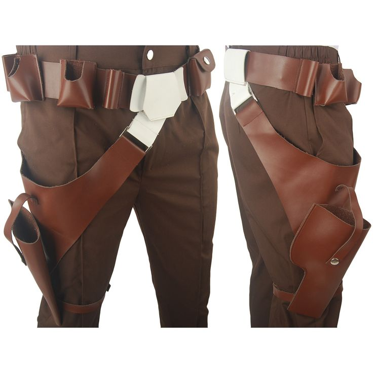 Star Wars The Force Awakens Han Solo Belt Holster Halloween Cosplay Costume
