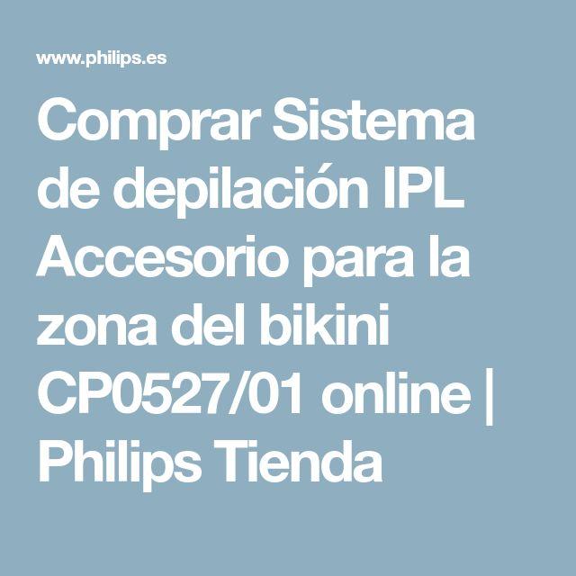 Comprar Sistema de depilación IPL Accesorio para la zona del bikini CP0527/01 online | Philips Tienda