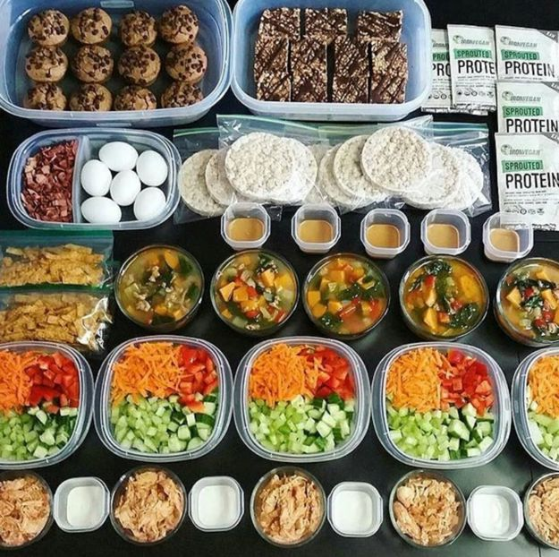 Don't just meal prep your lunches; make big batches of snacks and dinners, too!