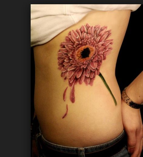 Gerber Daisy Tattoo....love it