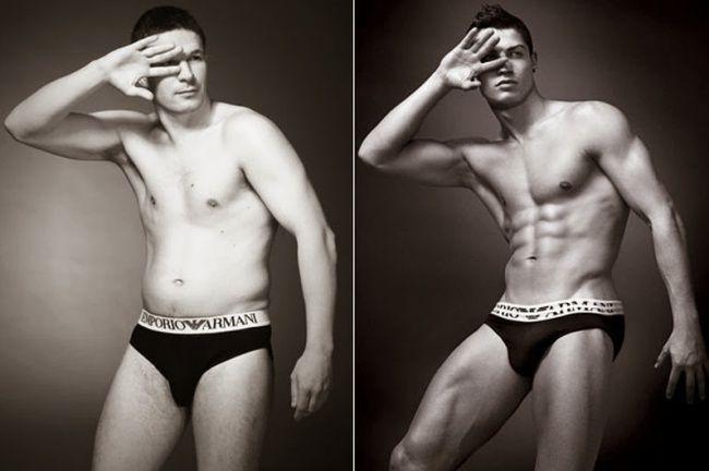 Смешная реклама. Если бы обычные мужчины снимались в рекламе нижнего белья (5…