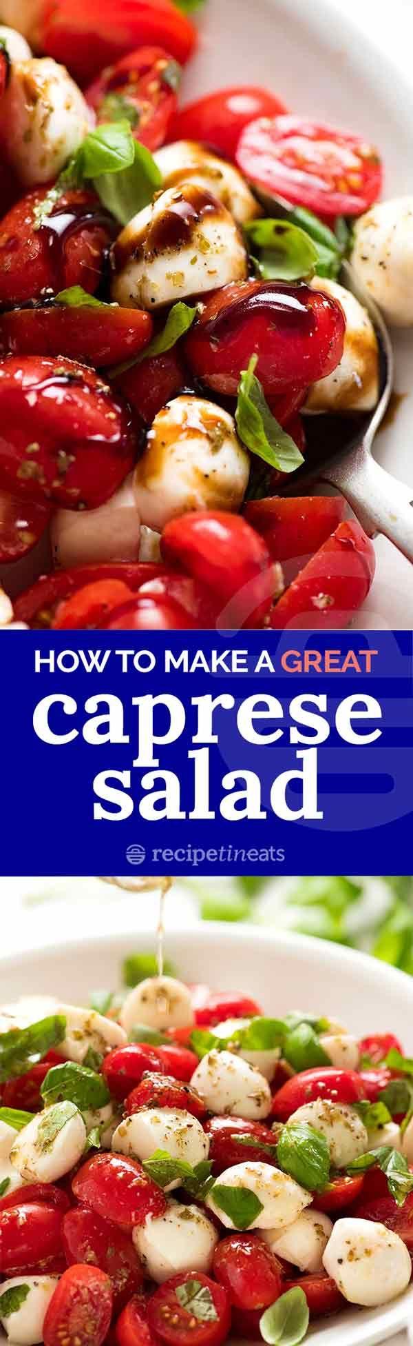 Caprese Salad Recipe Tin