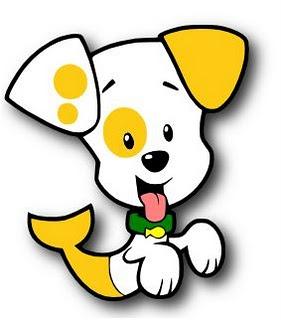 Free svg file....Violet wants a bubble puppy magnet!!!