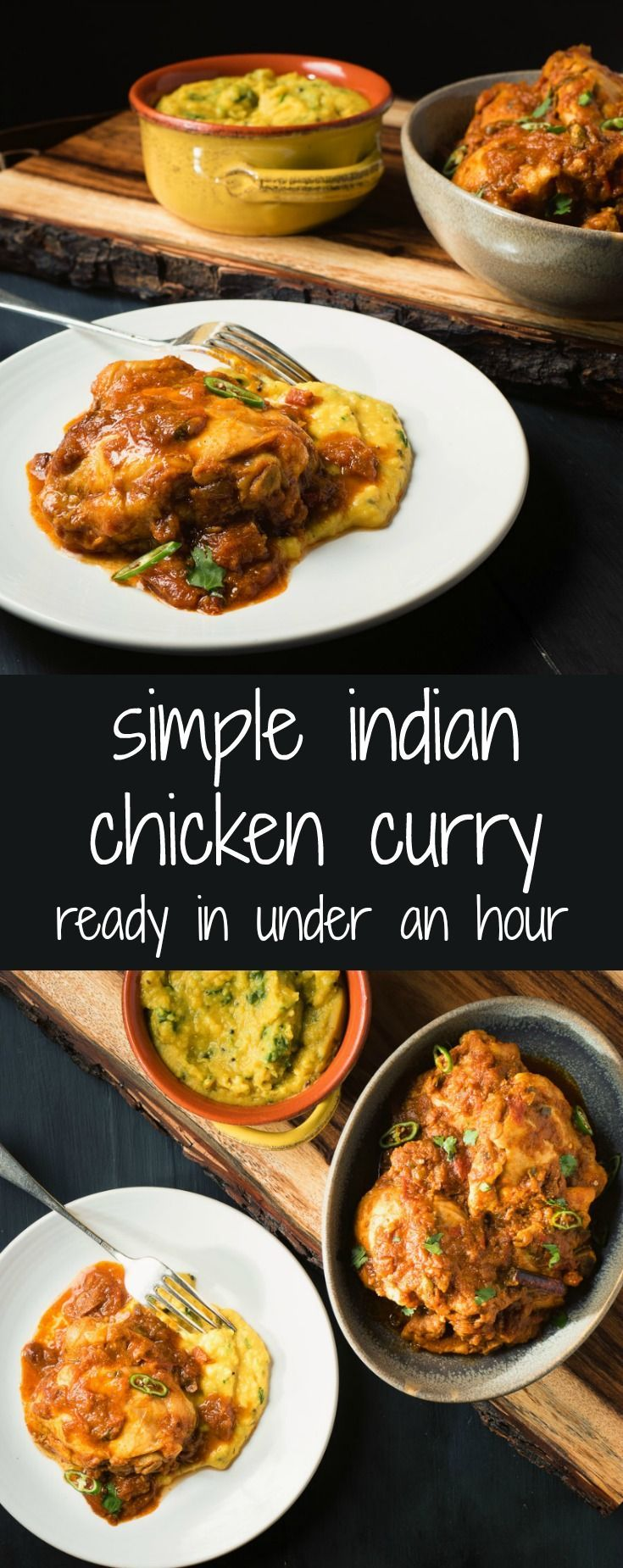 Loaded with Indian flavours, you can make this simple chicken curry in under an hour.