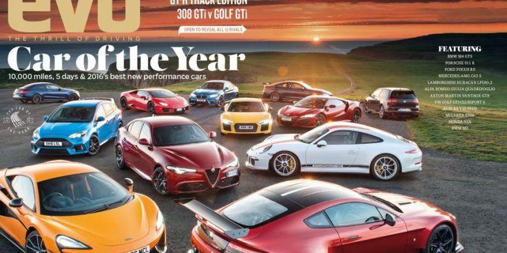 La voiture de l'année choisie par le magazine Anglais EVO