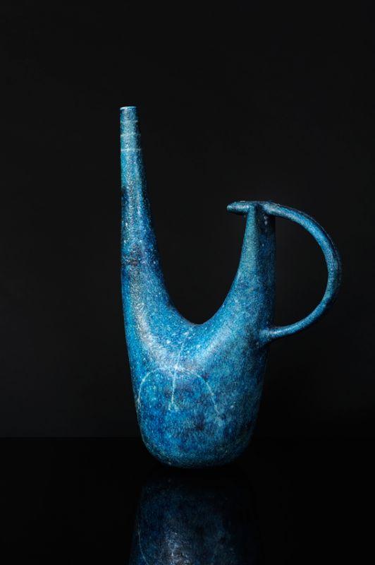 Guido Gambone; Glazed Ceramic Vessel, 1950s.