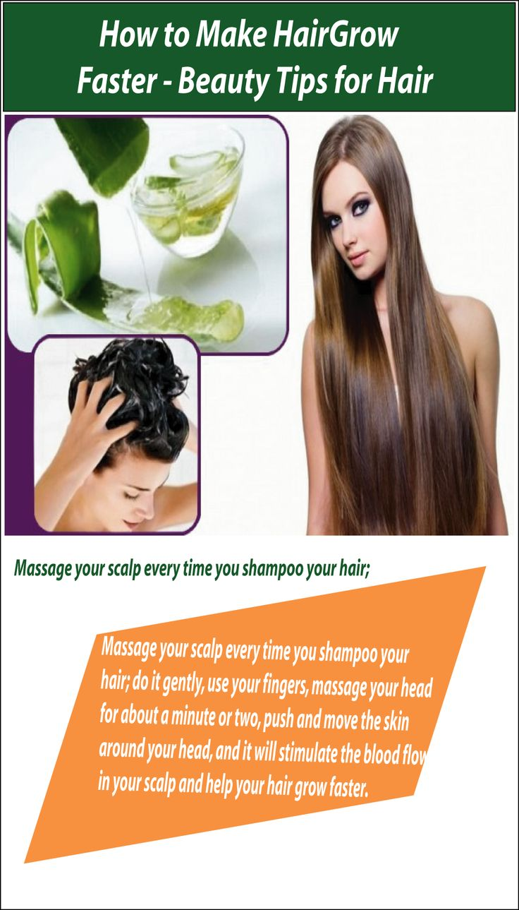 How To Make Hair Grow Faster And Thicker Overnight Naturally