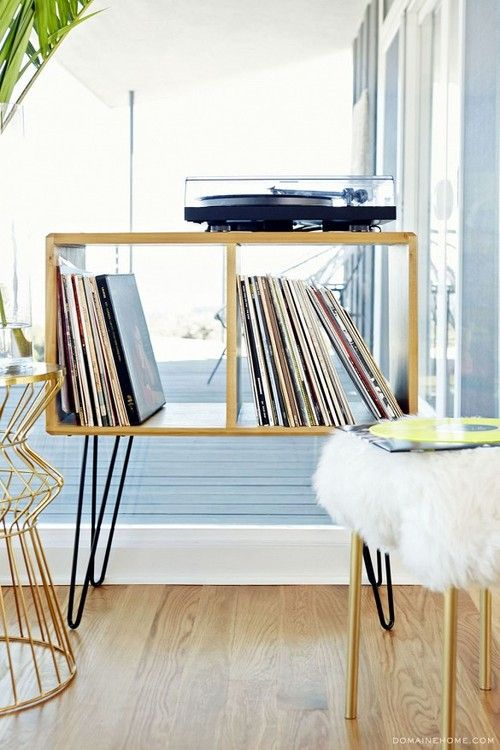 De 43 b sta f rvaring av vinylskivor bilderna p pinterest for Record case ikea