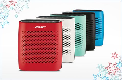 Bose Presents Merrier and Brighter Holiday Gifts | BLUETOOTH speakers | Bose $129.