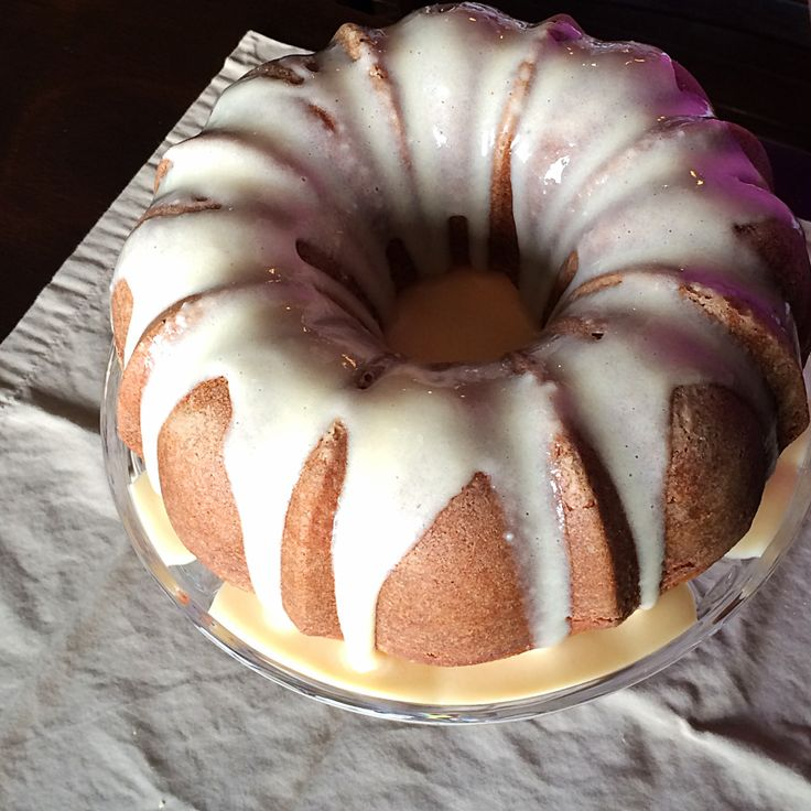 Vanilla Chai Bundt Cake by Bunny Baubles Blog
