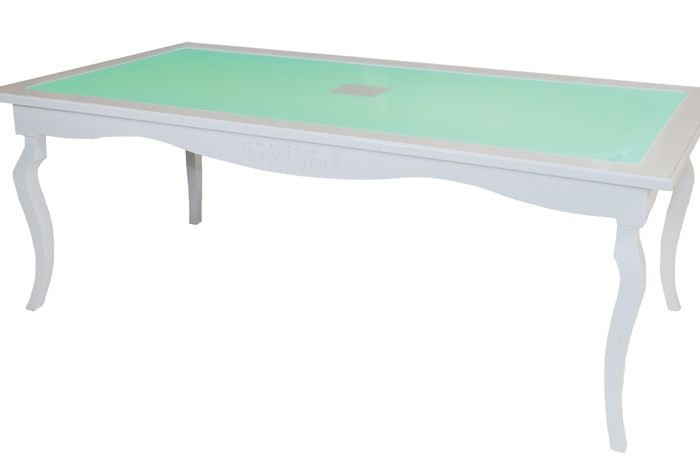A 39 s wedding the new ascott dining table from orlando for Table th href