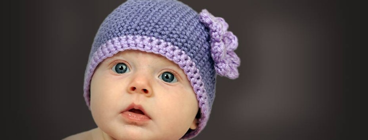 Make purple hats for babies to help prevent Shaken Baby Syndrome during the Period of Purple Crying.