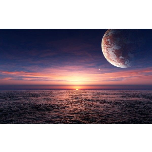 Sunrise at sea pictures -free pictures featuring polyvore, backgrounds, pic, pictures, sky and solid background