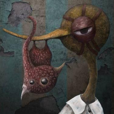 'Duck & Beaky in the room - 2'