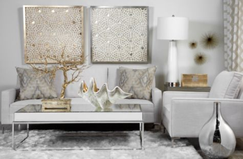 living room shag style rug indochine rug white from z gallerie cathy m newton pinterest tall lamps wall decor and clam shells