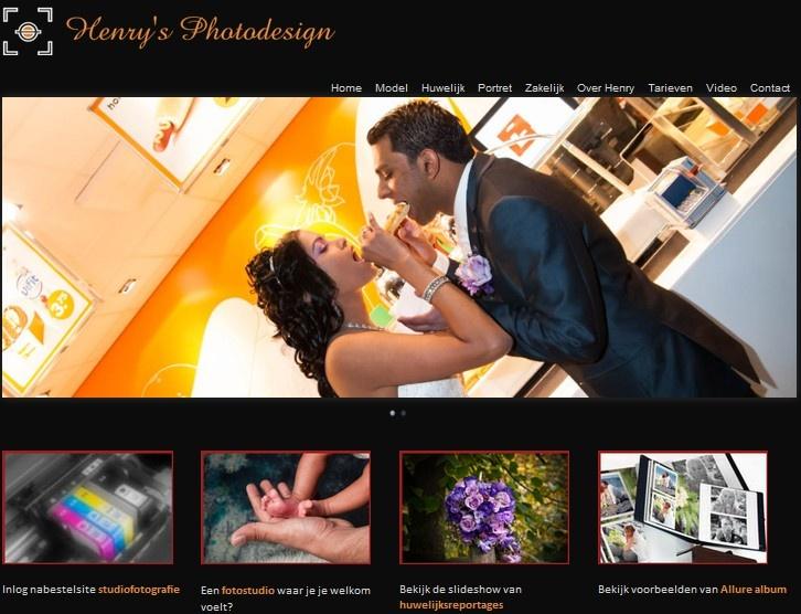 Wij feliciteren Henry's Photodesign met de nieuwe website! Klik op http://www.henrysphotodesign.nl/ om de site te bezoeken. En hier ziet u alvast een voorproefje.