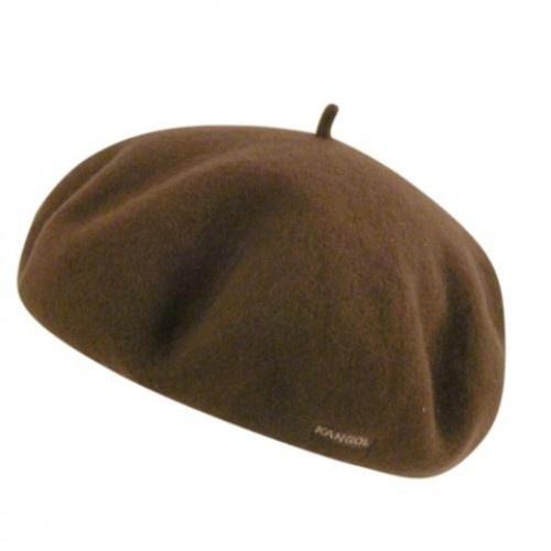 Kangol Anglobasque Beret Brown  www.lurban.ro  £19.89