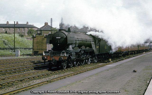 1962 - ''Royal Lancer'' at York.. | GNR/LNER Gresley pacific… | Flickr