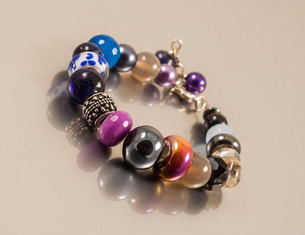 bransoletka Demi-jour (proj. Amatu), do kupienia w DecoBazaar.com, hand made jewelry Amatu