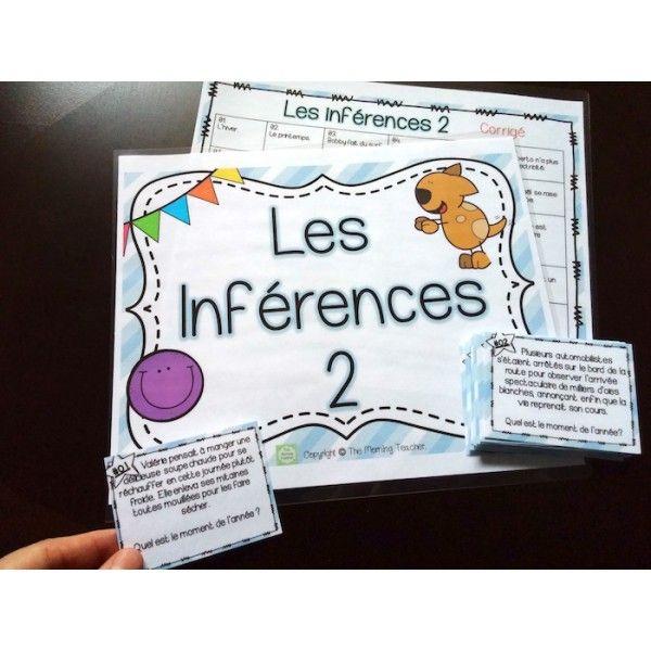 Les inférences 2 - Cartes à tâches !