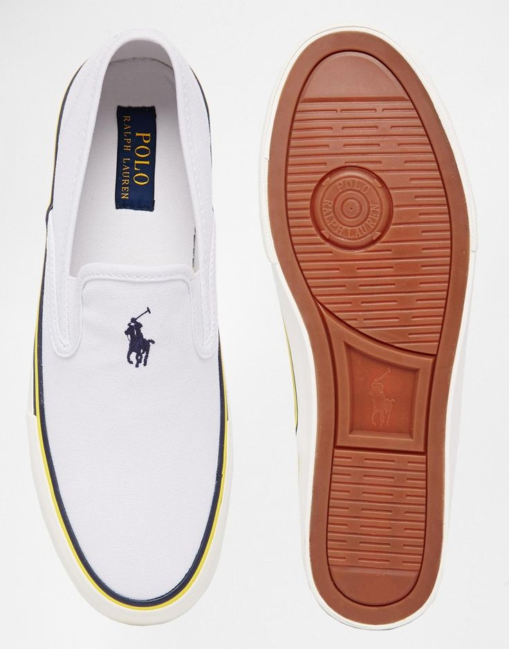 Image 3 of Polo Ralph Lauren Mytton Slip On Plimsolls