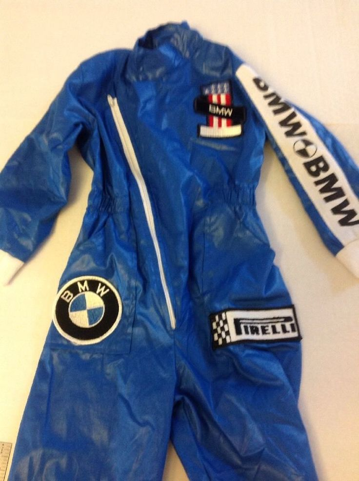 Race Cars For Sale >> Boys BMW Race Car Driver Suit Jumpsuit by Jamilla Size 4 ...