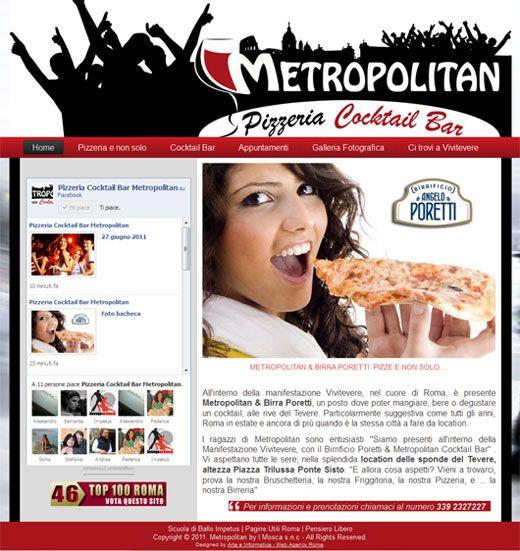Realizzazione Sito Web: Metropolitan