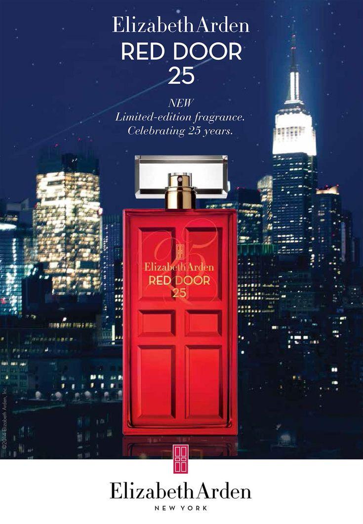 Red Door 25 Eau de Parfum Elizabeth Arden парфюм для женщин 2014 год #elizabetharden