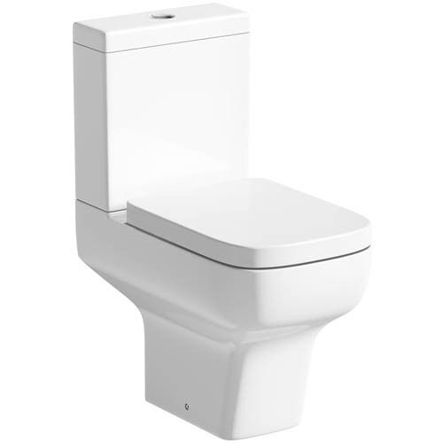 Aquabliss Zero Close Coupled Short Projection Space Saver Toilet inc Soft Close | eBay