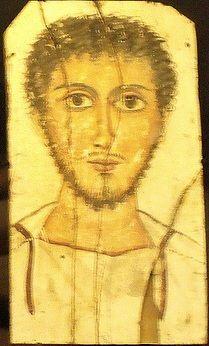 A Young Man, er Rubayat, AD 325-350 (Stockholm, Medelhavsmuseet, NM Ant 2307)…