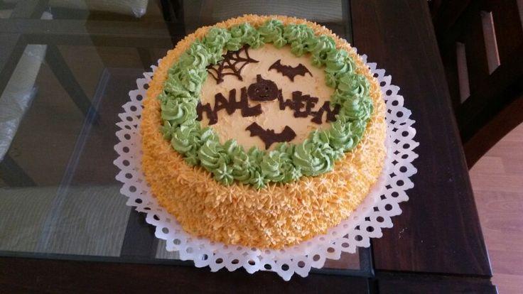 Torta helada Halloween