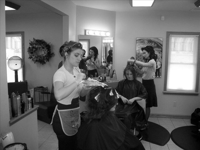 1950 39 s salon hair a thon pinterest for 1950 beauty salon