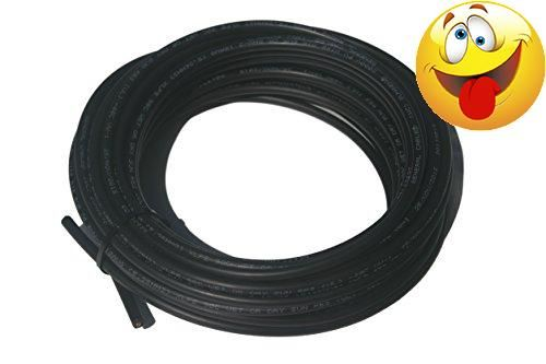 #50%off High Quality #solar #cable 100' Black bulk Copper PV wire with XLPE insulation 1000 VDC Cross-linked polyethylene (XLPE) insulation per UL-854, UL-4703 an...