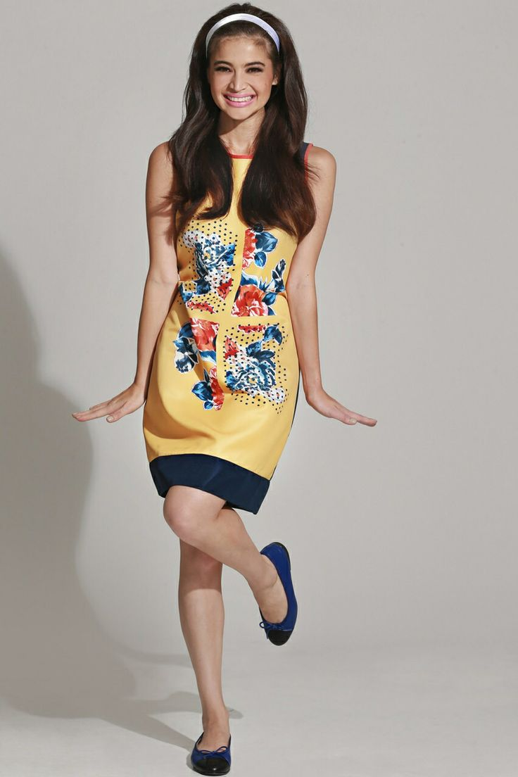 Anne Curtis in Plains & Prints. Located at the Upper Ground Floor SM CITY STA. MESA!