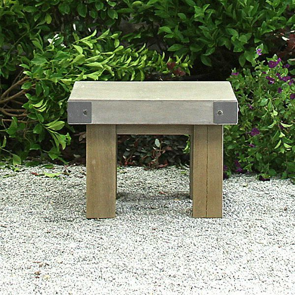 Side tables make a great accent for your outdoor bistro set. A small side table like the Bordeaux outdoor side table, a narrow side table from our teak outdoor furniture collection, adds style without taking up much space. Outdoor patio furniture, sale prices.