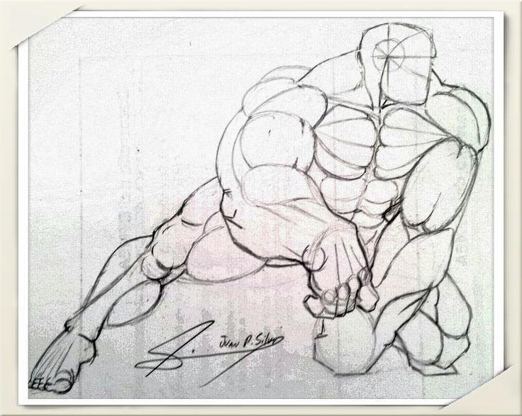 Estudio de anatomía masculina