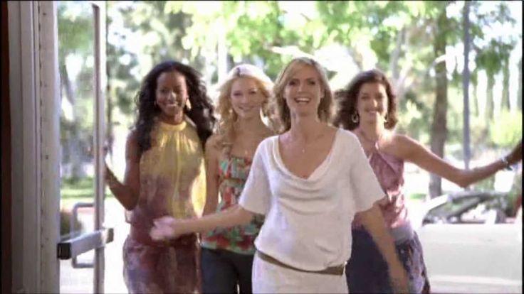 Mc Donalds Werbung mit Heidi Klum und Sara Nuru aus dem Jahr 2009