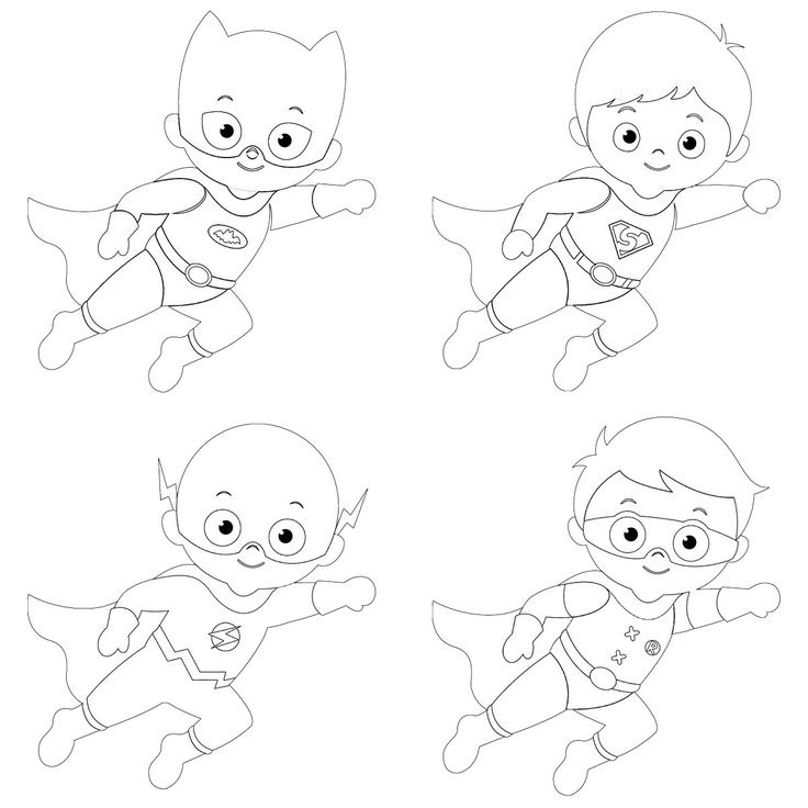 "Kit créatif magnets Super héros"" x 8"