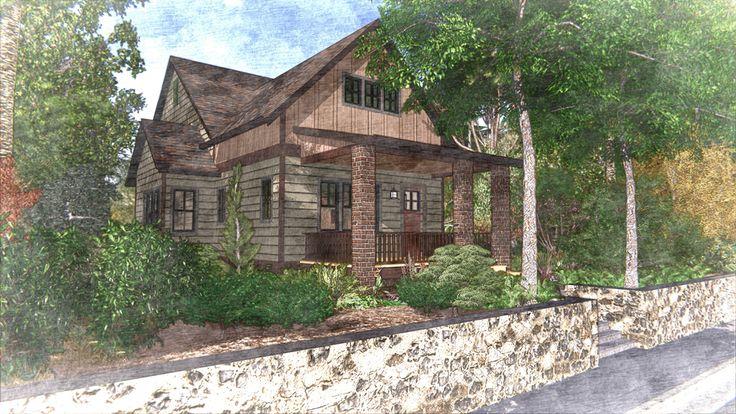 10 best pavilion area images on pinterest cabana gazebo for Laurel river house plan