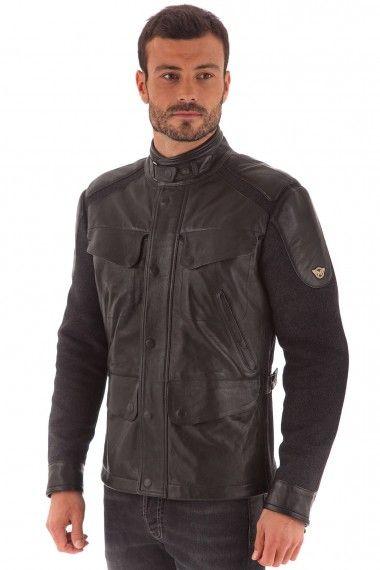 Le créateur de #Belstaff lance sa nouvelle ligne #MATCHLESS inspirée de l'univers moto, dans un style créateur sport/chic. Ce modèle de veste bimatière en cuir d'agneau fabuleux et draps de laine est à la fois chic, raffiné et sport. Coup de coeur Cesare Nori. #promo #shopping #menstyle http://www.cesarenori.fr/remise-30/2243-veste-en-cuir-d-agneau-drap-de-laine-noir-matchless-homme-brooklands-jacket-.html