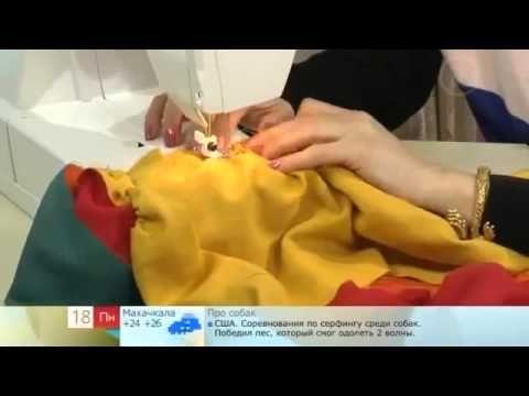 крестьянская юбка в пол peasant skirt to the floor - YouTube