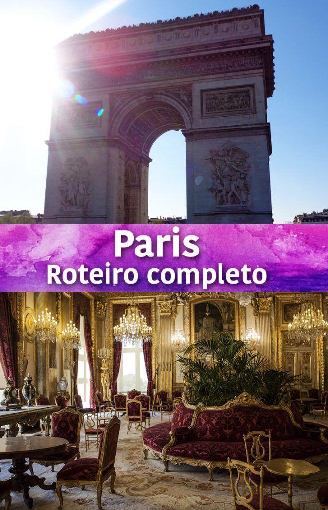Veja nosso roteiro completo de 6 dias em Paris. Mostramos as principais atrações, onde ir, o que comer e dicas para economizar!: