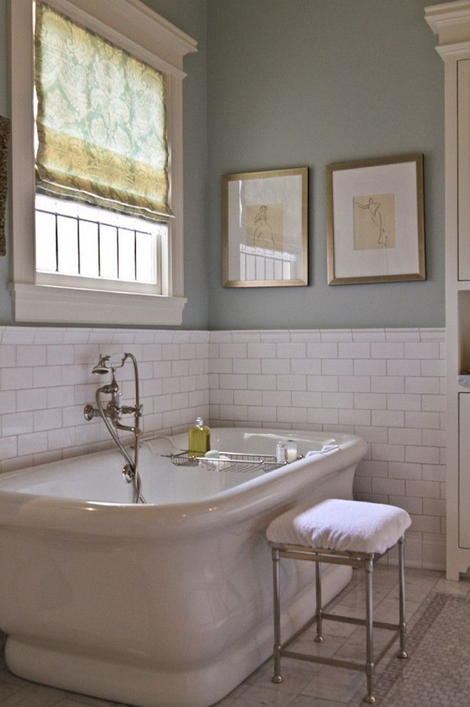 Like the window trim!  Creating A Beautiful Bathroom In Any Style