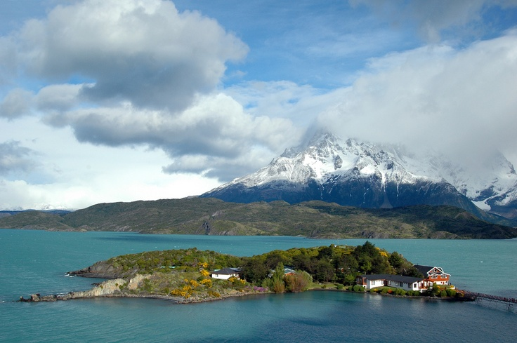 Lago Pehoe-Torres Del Paine, Patagonia Chilena, by Ju!