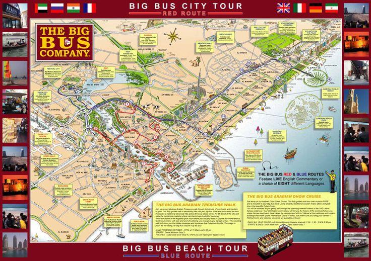 Big Bus Tours Dubai Ontdek Met Deze Hoppon Hoppoff Tour: Dubai Bus Tour Map At Infoasik.co