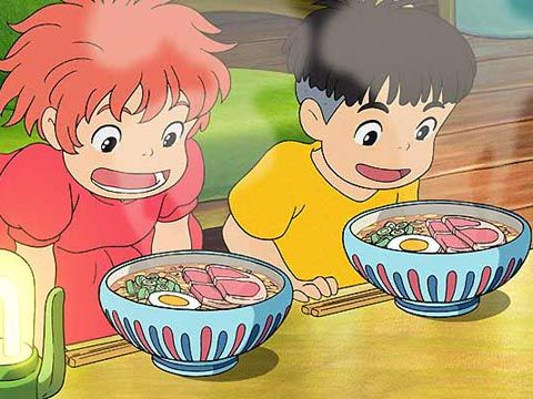 Ponyo  One of my favorite things about studio ghibli movies is the glimpses of everyday Japanese life  www.giasudayve.com