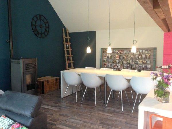 Les 14 meilleures images propos de mum 39 s salon sur for Salle a manger bleu canard