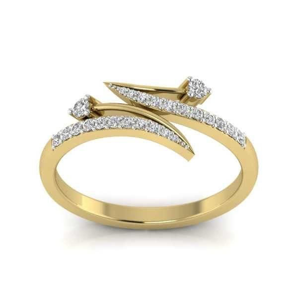Buy Back 2 Back Diamond Ring Kasturidiamond Gold Jewelry Fashion Gold Jewelry Stores Gold Ring Designs