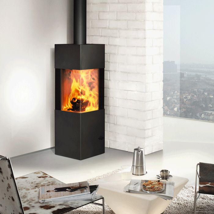 Austroflamm Slim 2.0 Multifuel Stove -hubby likes the idea of a corner stove.