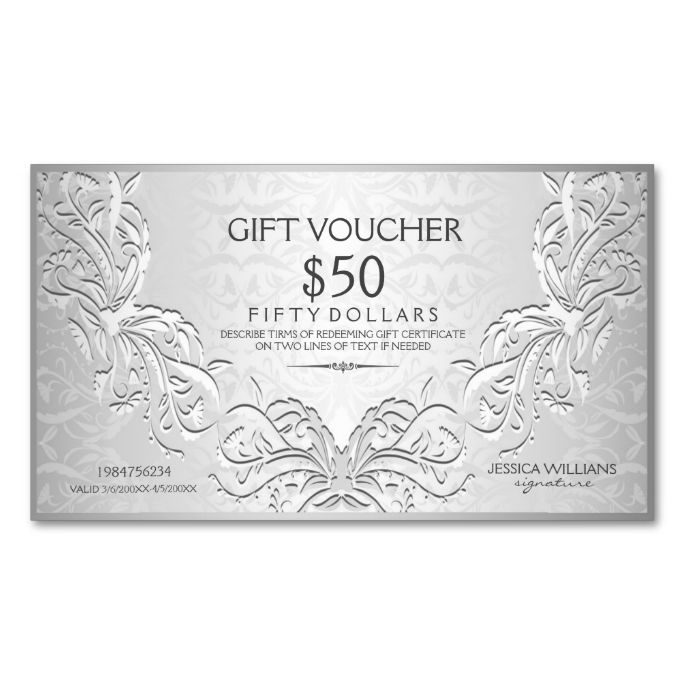 1462 best Voucher Card Templates images on Pinterest Card patterns - make your own voucher